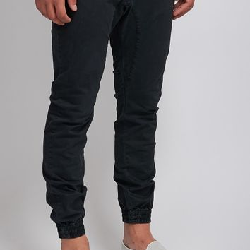 Ace Cuff Chino - Black | Pants and Chinos | Roger David