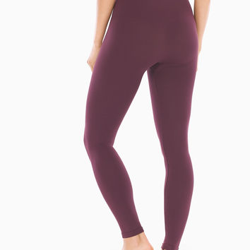 Soma Slimming Leggings Merlot