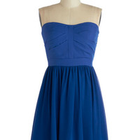 ModCloth Short Strapless A-line Dance Floor Dazzle Dress