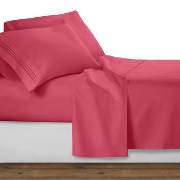 2500 Royal Collection Sheet Set - CORAL
