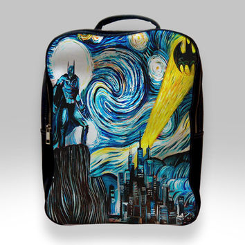 Backpack for Student - Batman Starry Night Bags