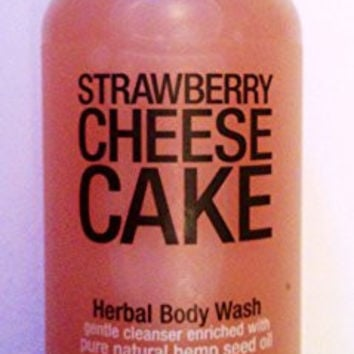 Hempz Strawberry Cheesecake Herbal Body Wash - 8.5 fl oz