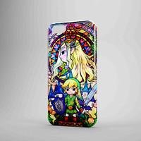 Zelda Link Holding The Legend Of Zelda iPhone Case Galaxy Case 3D Case