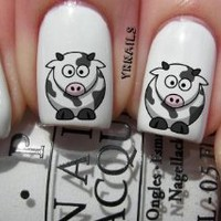 Colour Cow - Nail Decals by YRNails