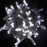 Amazon.com: 100 LED Fairy Light String Christmas Holiday Lights for Room Garden Home Decoration (White): Home & Kitchen