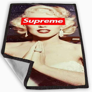 marilyn monroe supreme Blanket for Kids Blanket, Fleece Blanket Cute and Awesome Blanket for your bedding, Blanket fleece *