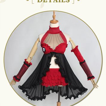 Tohsaka Rin Sexy Cosplay Queen Ver. Fate Grand Order Dress Costume Fate Extra Cosplay