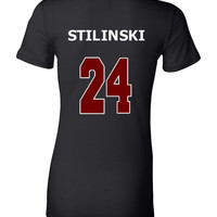 10% OFF Teen Wolf T-shirt - Stilinski 24 - Double Sided Design