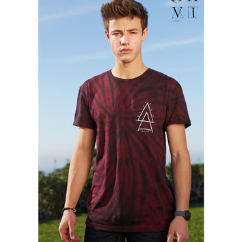 United XXVI Guys Tie Dye Graphic T