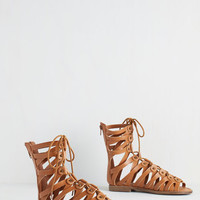 ModCloth Boho Your Strappy Place Sandal