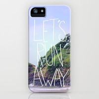 Let's Run Away XIV iPhone Case by Leah Flores | Society6