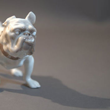 Snaggle Toothed Bulldog by Jens Peter Dahl-Jensen for Bing & Grondahl, Danish Modern