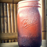 Beautiful Rustic Hand Made Ball Mason Jar Decor