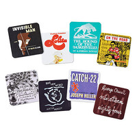 LITERARY COASTERS - SET OF 8