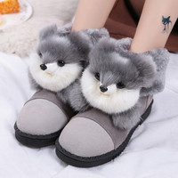 Cute Animal Winter Warm Snow Boots