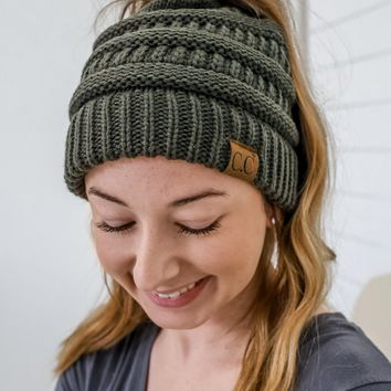 Beautiful Mess Beanie - Olive