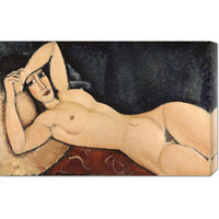 Global Gallery GCS27859830142 Reclining Nude by Amedeo Modigliani: 30 x 19.32 Canvas Giclees, Wall Art
