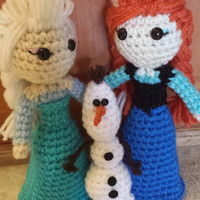 Frozen Doll Set Anna Elsa Olaf