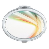 Abstract Swirl 2 Makeup Mirror