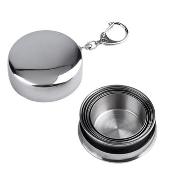 Stainless Steel Collapsible Camping Cup