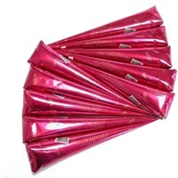 10 Pack Henna Cones Ready Made Mehndi Paste