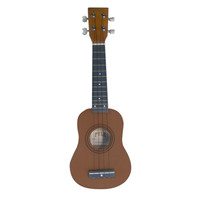 Pyle 21 Soprano Ukelele With Bag, Picks (Maple/Brown Color)