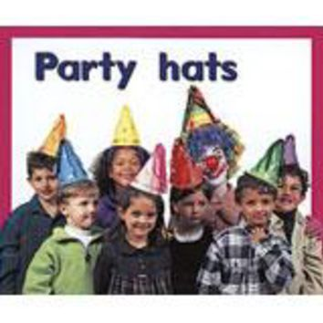Rigby PM Plus Starters Leveled Reader 6pk Magenta (Level 2) Party Hats