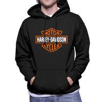 Harley Davidson Cycles Bar & Shield Hoodie Sweatshirts