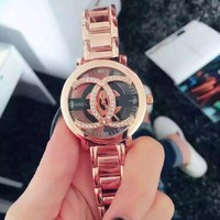 CHANEL Hot Vintage Fashion Quartz Classic Watch Round Ladies Women Men wristwatch On Sales Jovial(With Thanksgiving&Christmas Gift Box) I
