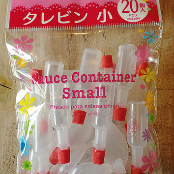 Small Sauce 20 Bottles for Bento, crafts, decor and more