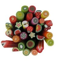 Fimo Nail Art Polymer Clay Fruit Cane | £0.50 | Buy @ Something Kawaii UK