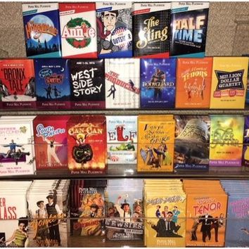 Magnets from Paper Mill Playhouse