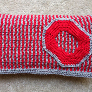 Ohio State Baby Blanket - Free Shipping