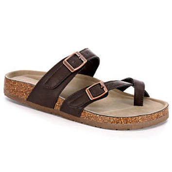 Madden Girl Brycee Women's Sandal (DARK BROWN)