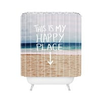 Happy Place Shower Curtain