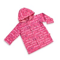 Magnificent Baby Smart Close Raincoat in Hello Hot Dog Girl Print