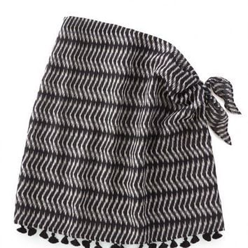 Convertible Sarong - Black/White