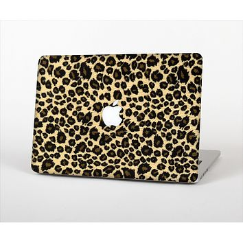 The Small Vector Cheetah Animal Print Skin Set for the Apple MacBook Pro 13""