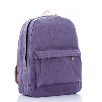 Simple Travel Pale Violet Backpack = 4887845124