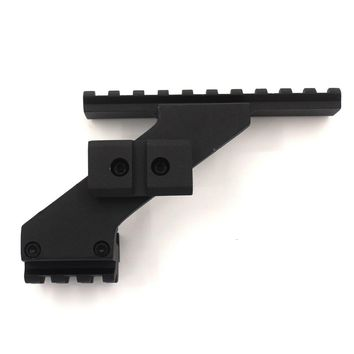 metal Tactical Weaver Picatinny Top & Bottom Rail Scope Mount Fits Glock Front Red Dot Laser Sight