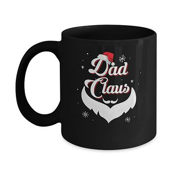 Santa Beard Matching Christmas Pajamas Dad Claus Mug