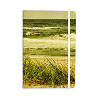 "Iris Lehnhardt ""Dunes and Waves"" Water Green Everything Notebook"