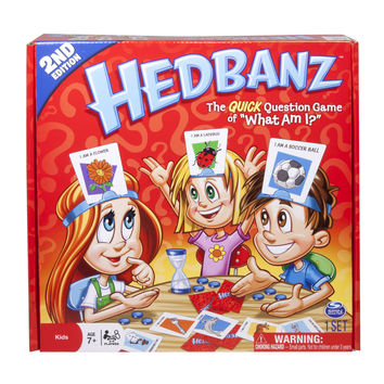 Spin Master Games, HedBanz Board Game, Second Edition