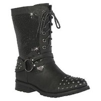 Women's Gia-Mia Chic Studded Combat Boot