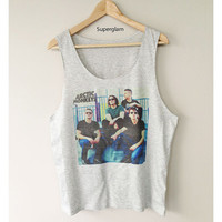 Arctic Monkeys Band Indie Rock Singlet T-Shirt Vest Unisex Man Women