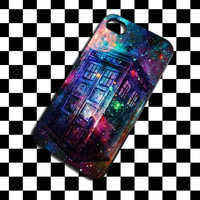 Tardis Doctor Who Galaxy Nebula iPhone Case And Samsung Galaxy Case