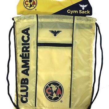 Club America Cinch Agulias Bag Sack  Soccer Book  Backpack Authentic Official