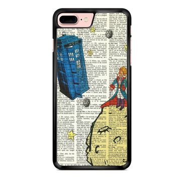 The Little Prince With Tardis iPhone 7 Plus Case