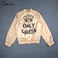 Queens only Satin Jacket