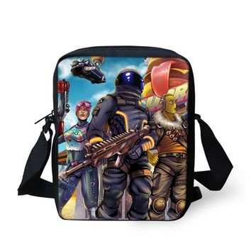 Boys Backpack Bag FORUDESIGNS Fortnite Game  3 Pcs/set Children School Bags Orthopedic Fortnite School Bag for Girls Student Book Bag AT_61_4
